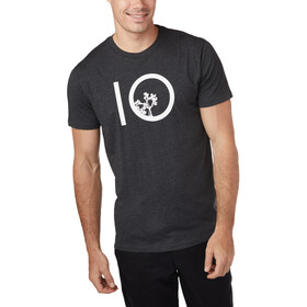 tentree Ten SS Tee Men meteorite black heather